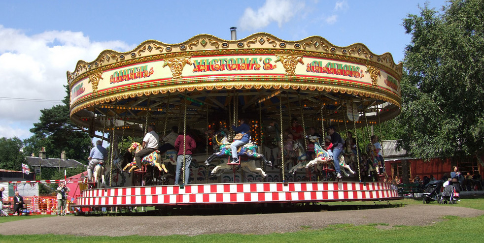 Gallopers for young and old