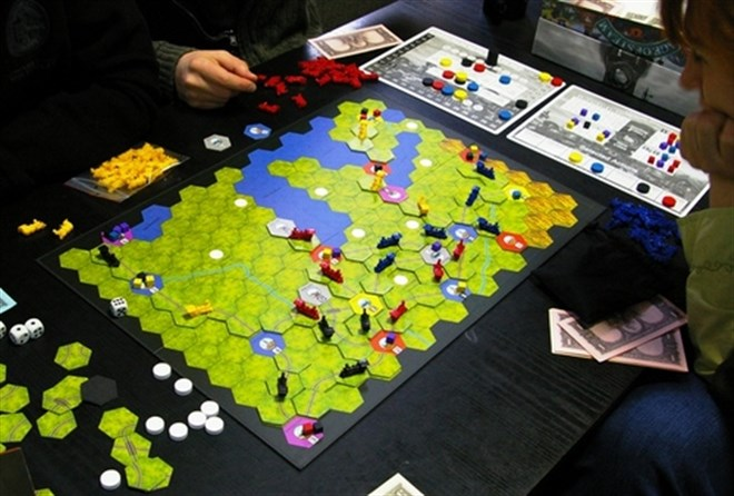 3-Age Of Steam -Boardgame