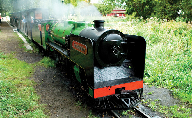Win a Steam Train Driving Experience for Father's Day