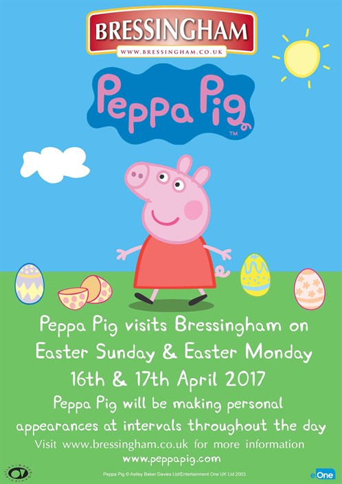 Peppa Poster 2017 Easter Revised