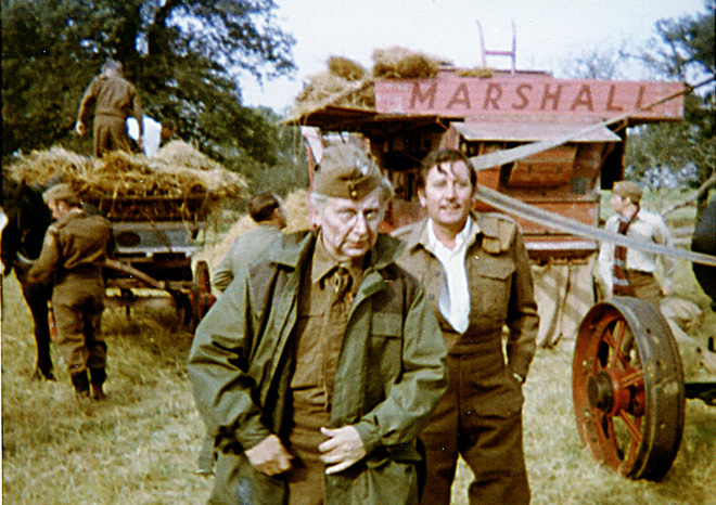 Memories of Dad's Army on location in Bressingham