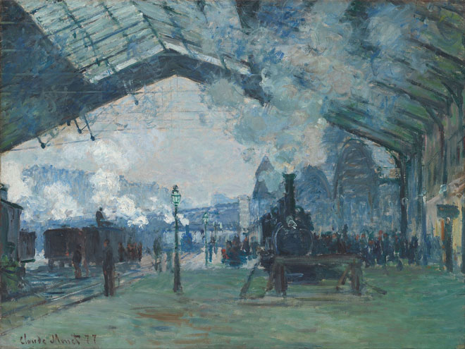 Steam Railway Paintings And Artists