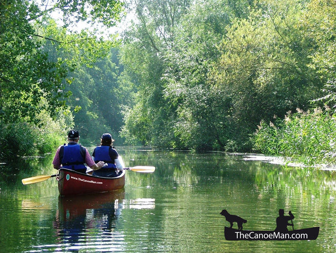 Canoe -Man -Norfolk -Waterways -2